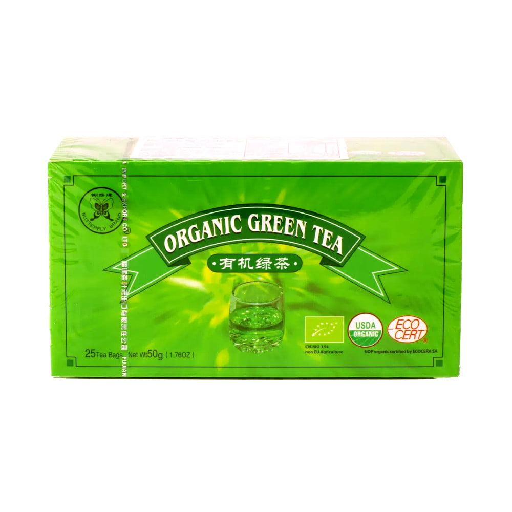 Chá Verde Orgânico c/ 25 sachês 50g