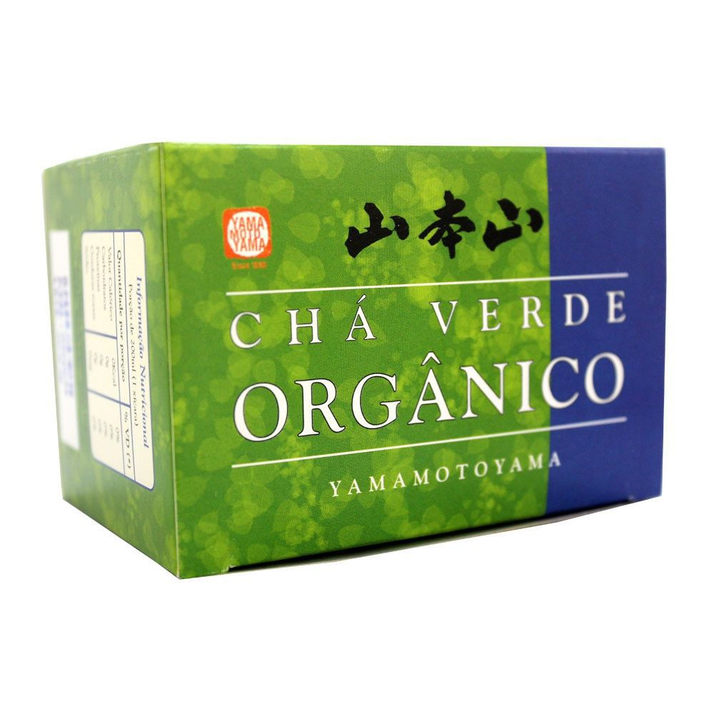 Chá Verde Orgânico 15 Sachês - Yamamotoyama 30g