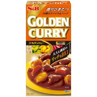 Curry Golden  suave S&B 92g