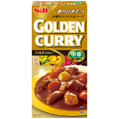 Golden Curry Chukara S&B 90g