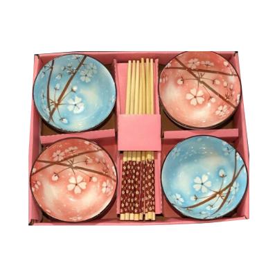 Jogo c/ 4 Tigelas Sakura