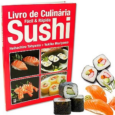 Livro de Culinária Sushi - Fácil & Rápida