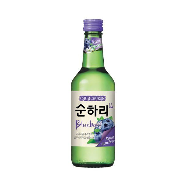 Lotte Chum Churum sabor Blueberry - 360ml
