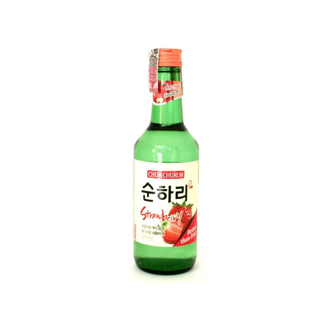Lotte Chum Churum sabor Morango - 360ml