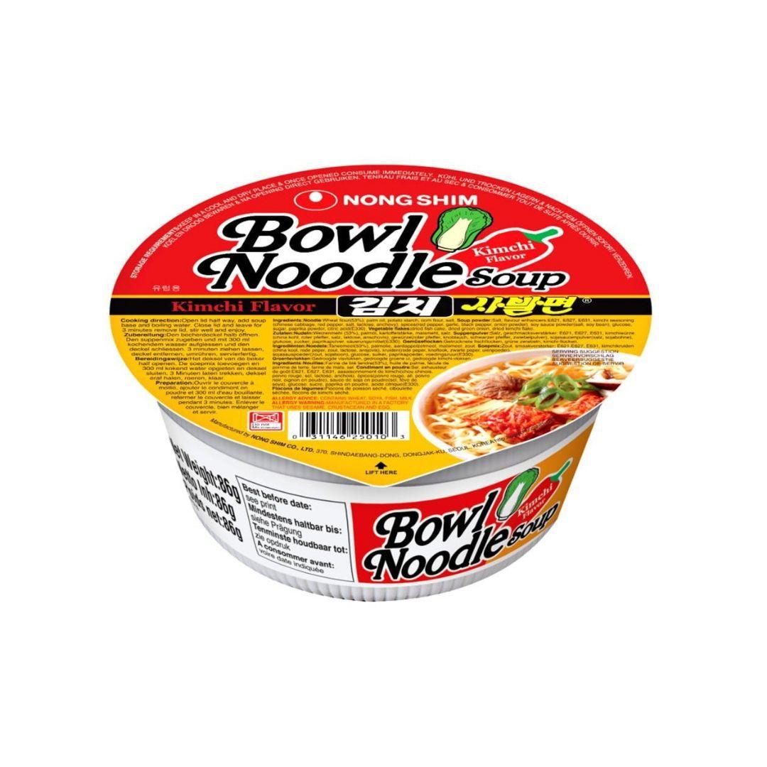 Macarrão Bowl Noodle Sabor Kimchi 86g