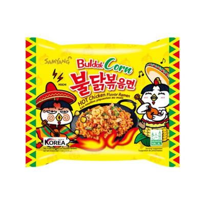 Macarrão Hot Chicken Ramen sabor Milho 100g