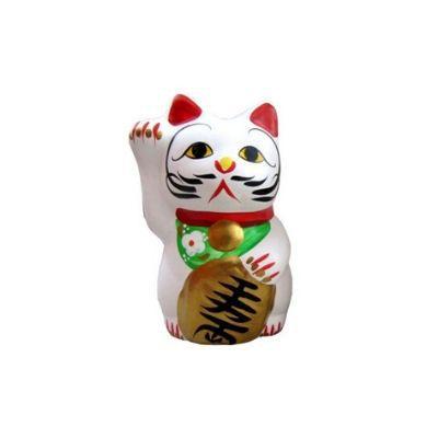 Gato da Sorte Maneki Neko Cofre médio
