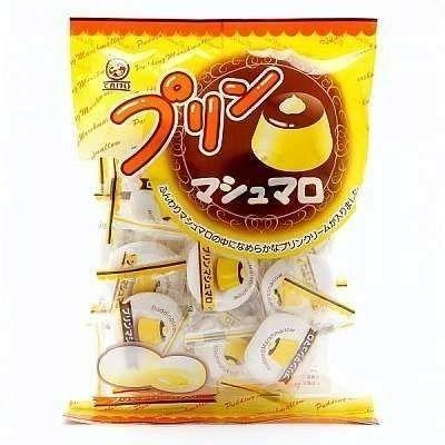 Marshmallow com Recheio Sabor Pudim 90g