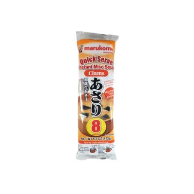 Missoshiru Instantâneo sabor Asari c/ 8 sachês 152g