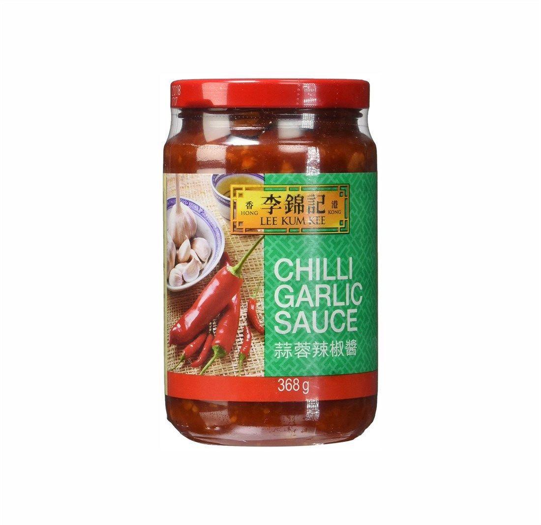Molho de Pimenta com Alho - Chili Garlic Sauce Lee Kum Kee 368g