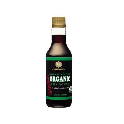 Molho de Soja Orgânico - Kikkoman 296ml