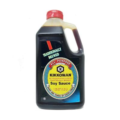 Molho de Soja Original Kikkoman 1,2L