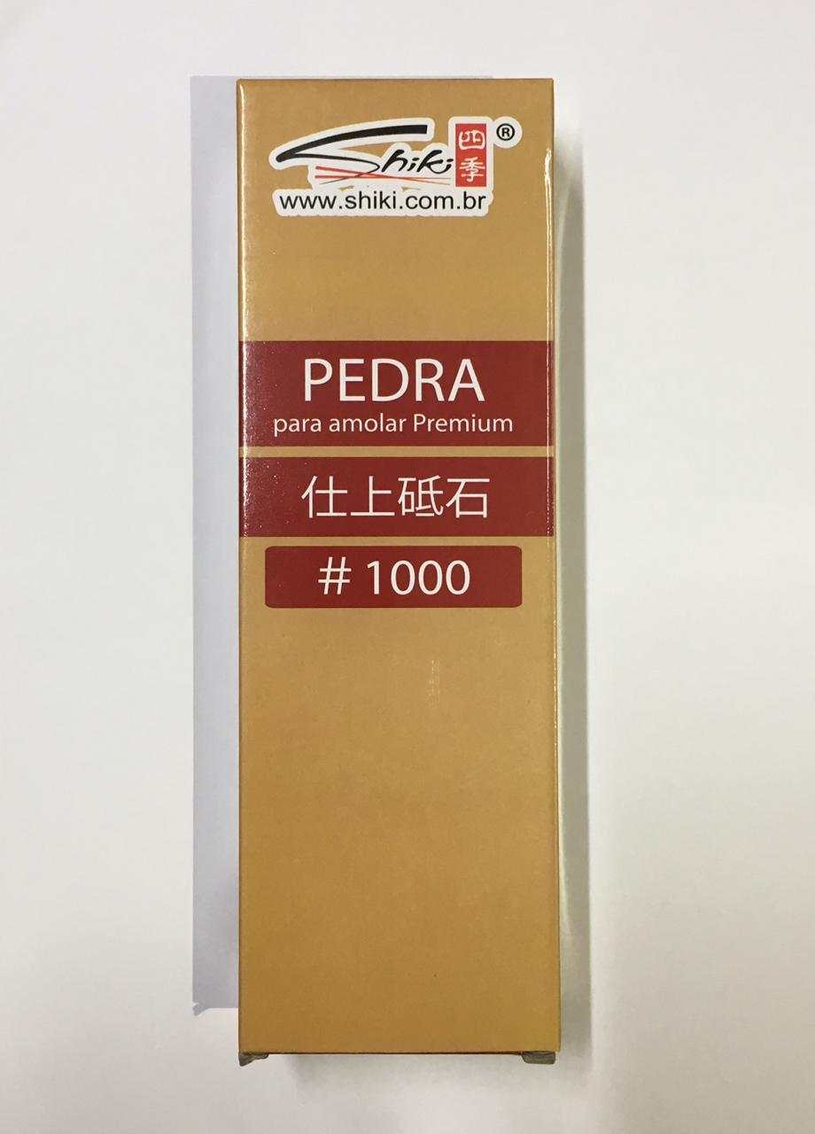 Pedra Para amolar Premium #1000- Shiki