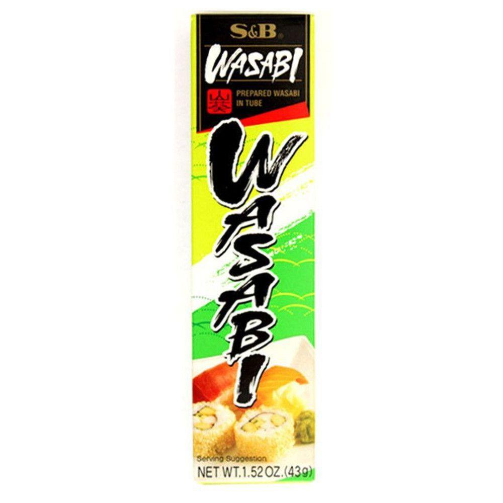 Wasabi em Pasta Neri (Raiz Forte)  S&B 43g