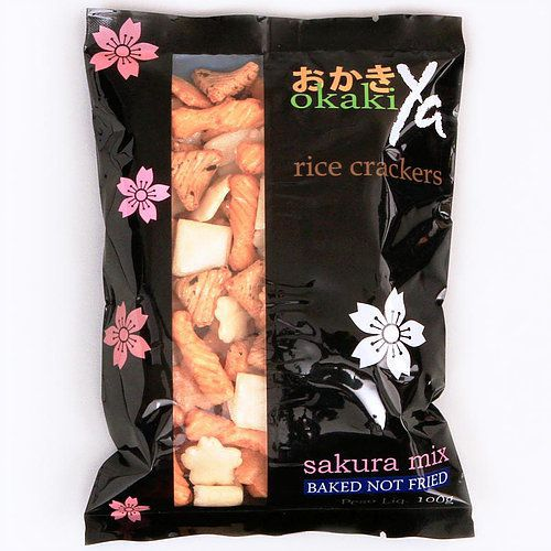 Salgadinho de Arroz Sakura Mix 100g