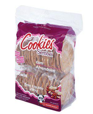 Biscoito sembei Cookies Com Amendoim Satsumaya 280g