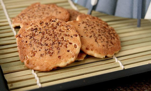 Sembei Cookies Com Amendoim Satsumaya 280g
