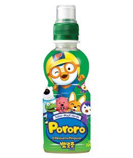 Suco Coreano - Pororo sabor Maçã Verde - 226 ml