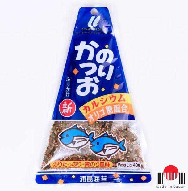 Tempero para Arroz Furikake - Alga Marinha Nori e Peixe Katsuo 30g