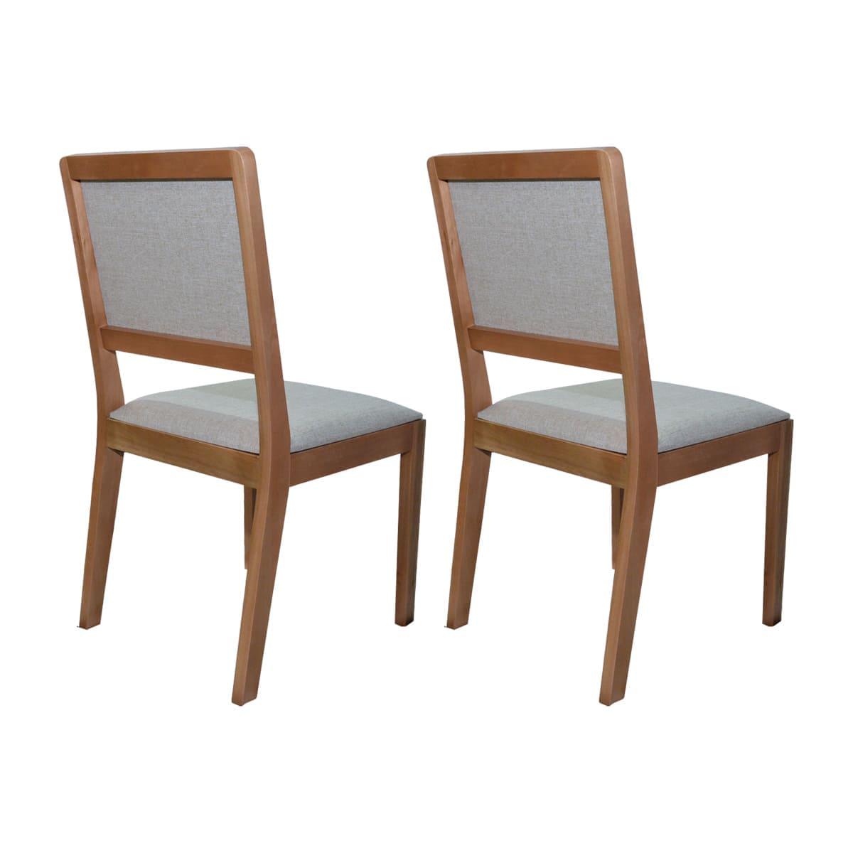 Conjunto Cadeiras Lili Linho Bege