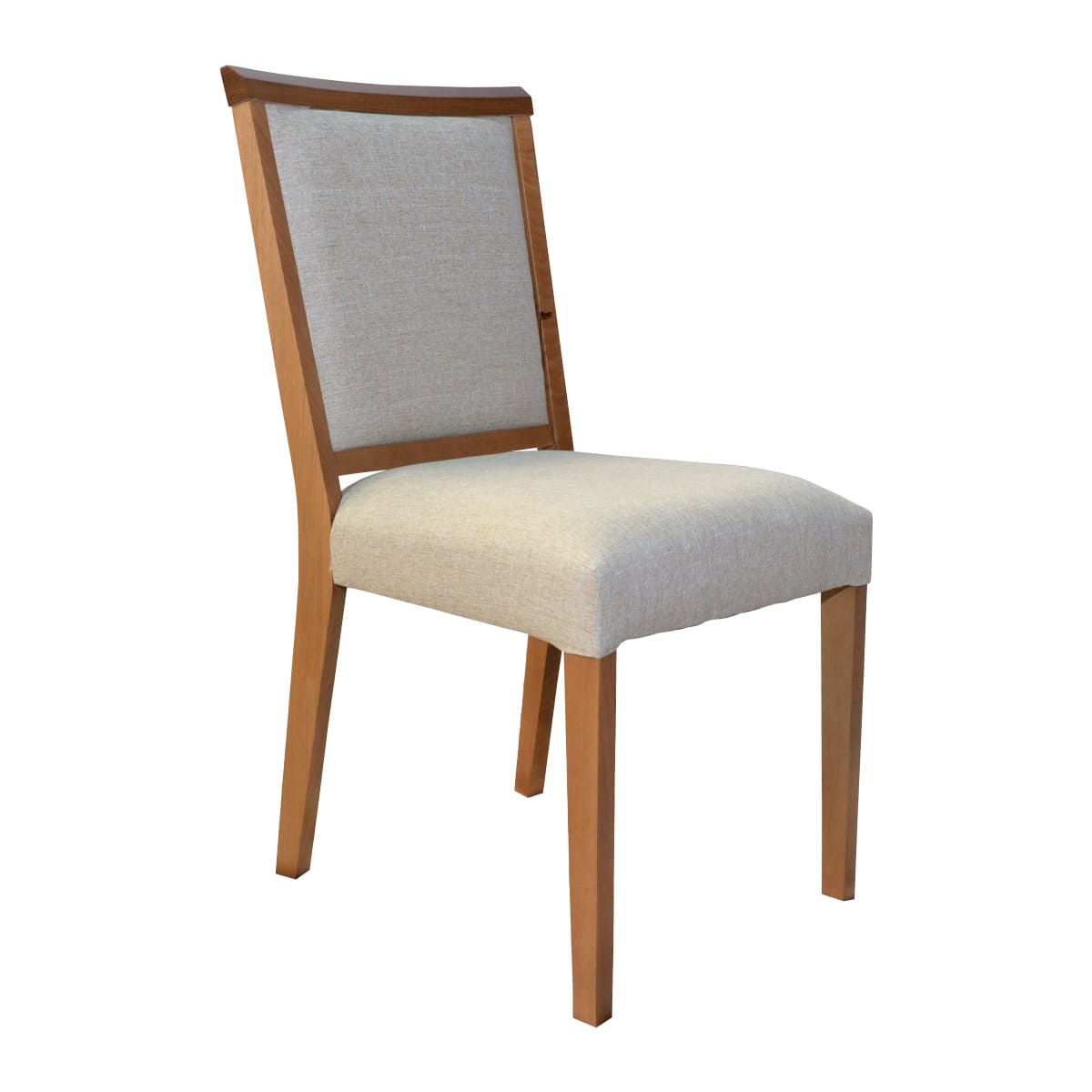 Mesa De Jantar Lara 120x90 Com 04 Cadeiras Débora Linhão Bege