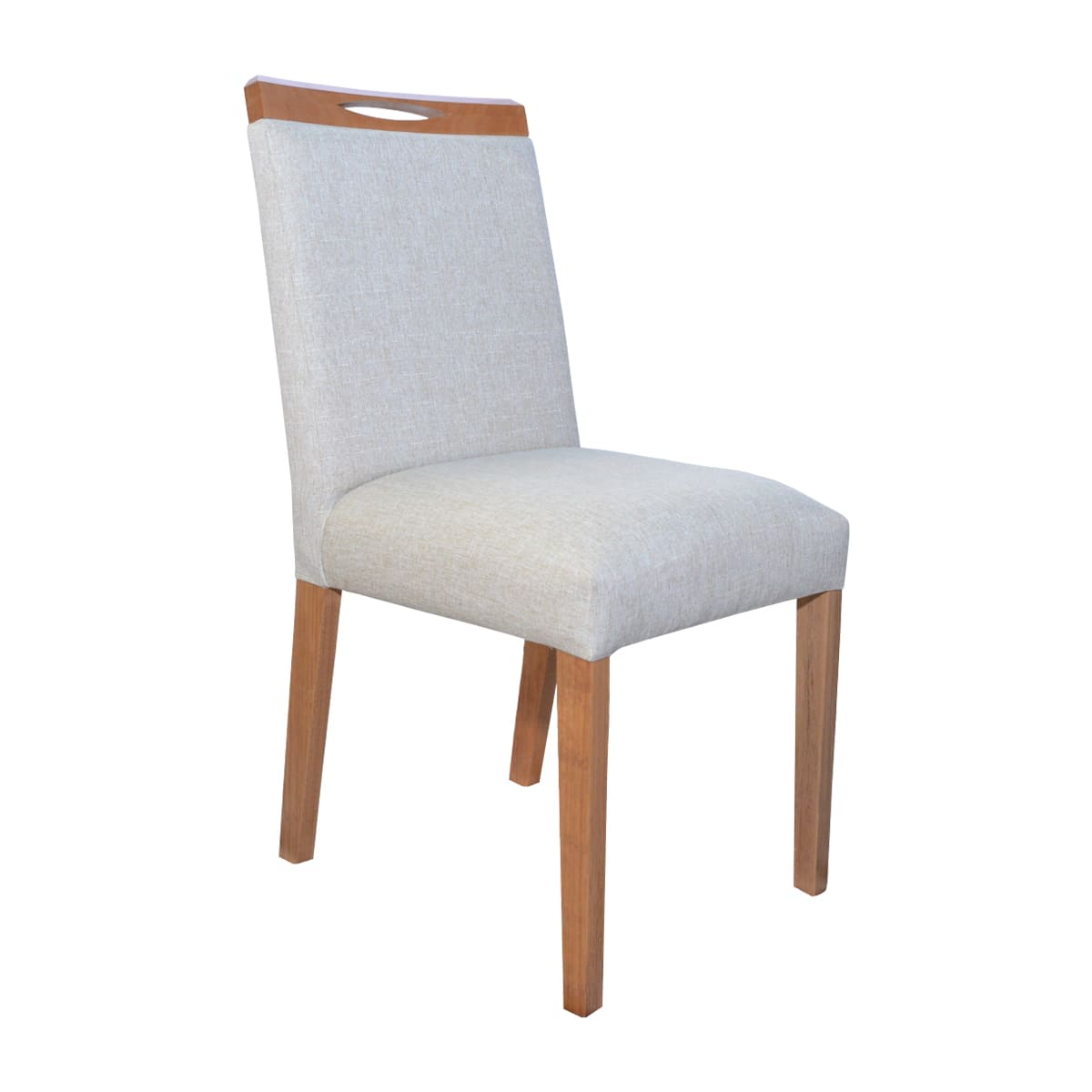 Mesa De Jantar Lara 120x80 Com 04 Cadeiras Lara Linhão Bege