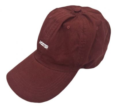 Boné Dad Hat Bordô Athleisure HOSTER