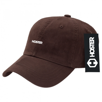 Boné Dad Hat Marrom Strapback Athleisure HOSTER