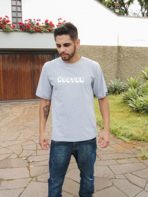 Camiseta HOSTER 3D Cinza Mescla