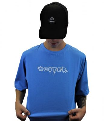 Camiseta Azul Athleisure HOSTER Monster