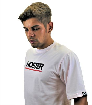 Camiseta Rosa Athleisure HOSTER Back Side