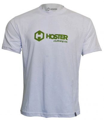 CAMISETA HOSTER CLOTHING BRANCA