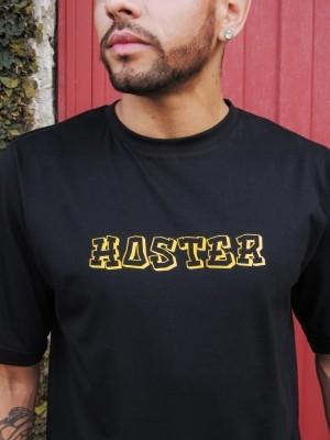 Camiseta HOSTER Monster Preta