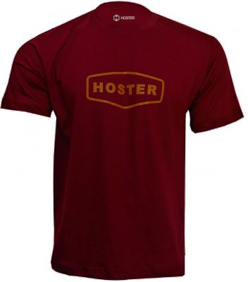 CAMISETA HOSTER URBAN LIFE BORDO