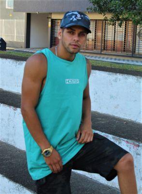Camiseta Regata Verde Athleisure HOSTER Street