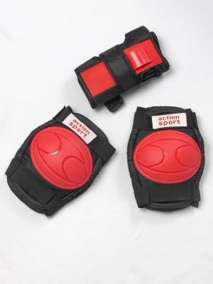 Kit Proteção Infantil Joelheira + Cotoveleira + Luvas de Proteção