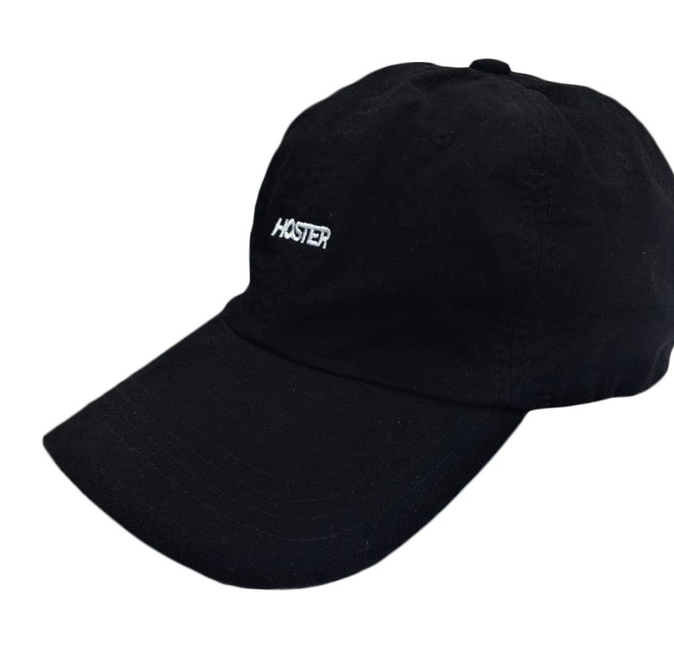Boné Dad Hat Preto Athleisure HOSTER