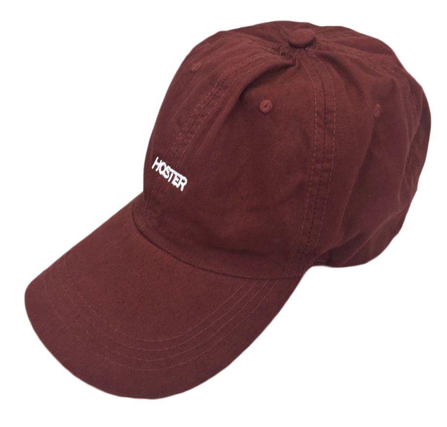 Boné Dad Hat Bordô Athleisure HOSTER