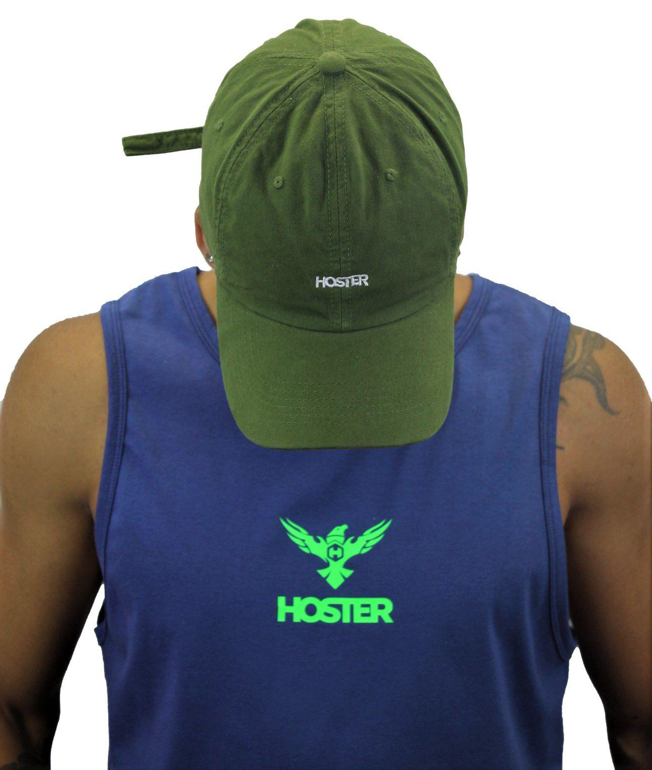 Boné Dad Hat Verde Escuro Athleisure HOSTER