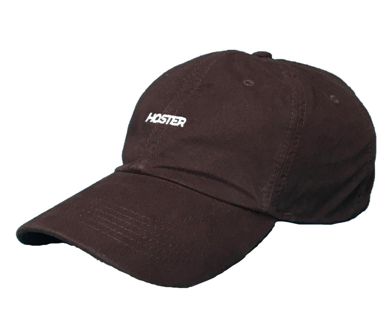Boné Dad Hat Marrom Athleisure HOSTER