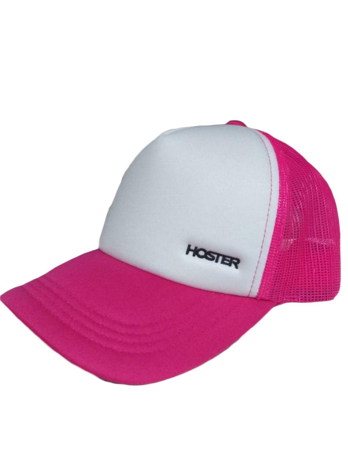 Boné Rosa Trucker Athleisure HOSTER