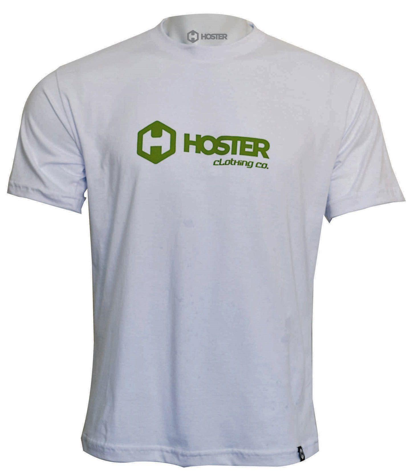 CAMISETA HOSTER CLOTHING BRANCA