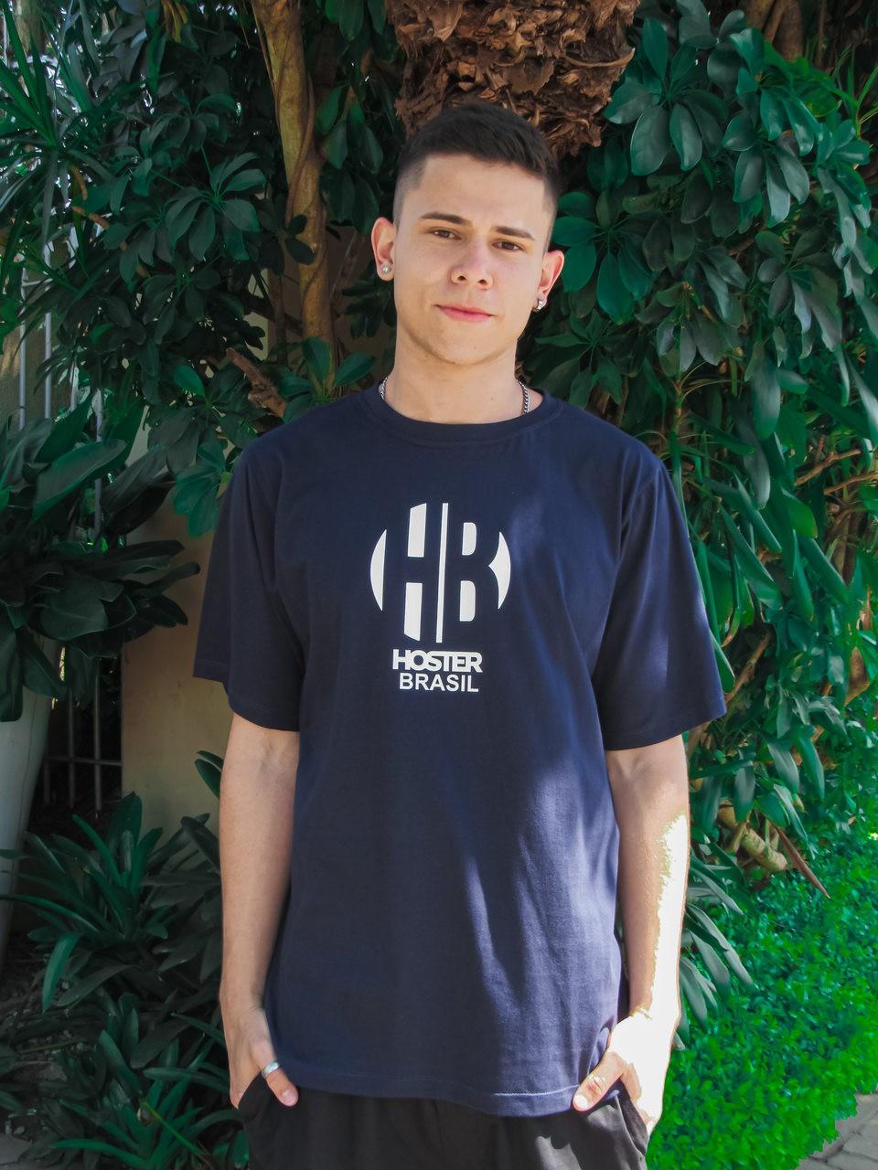 Camiseta HOSTER HB Azul Marinho