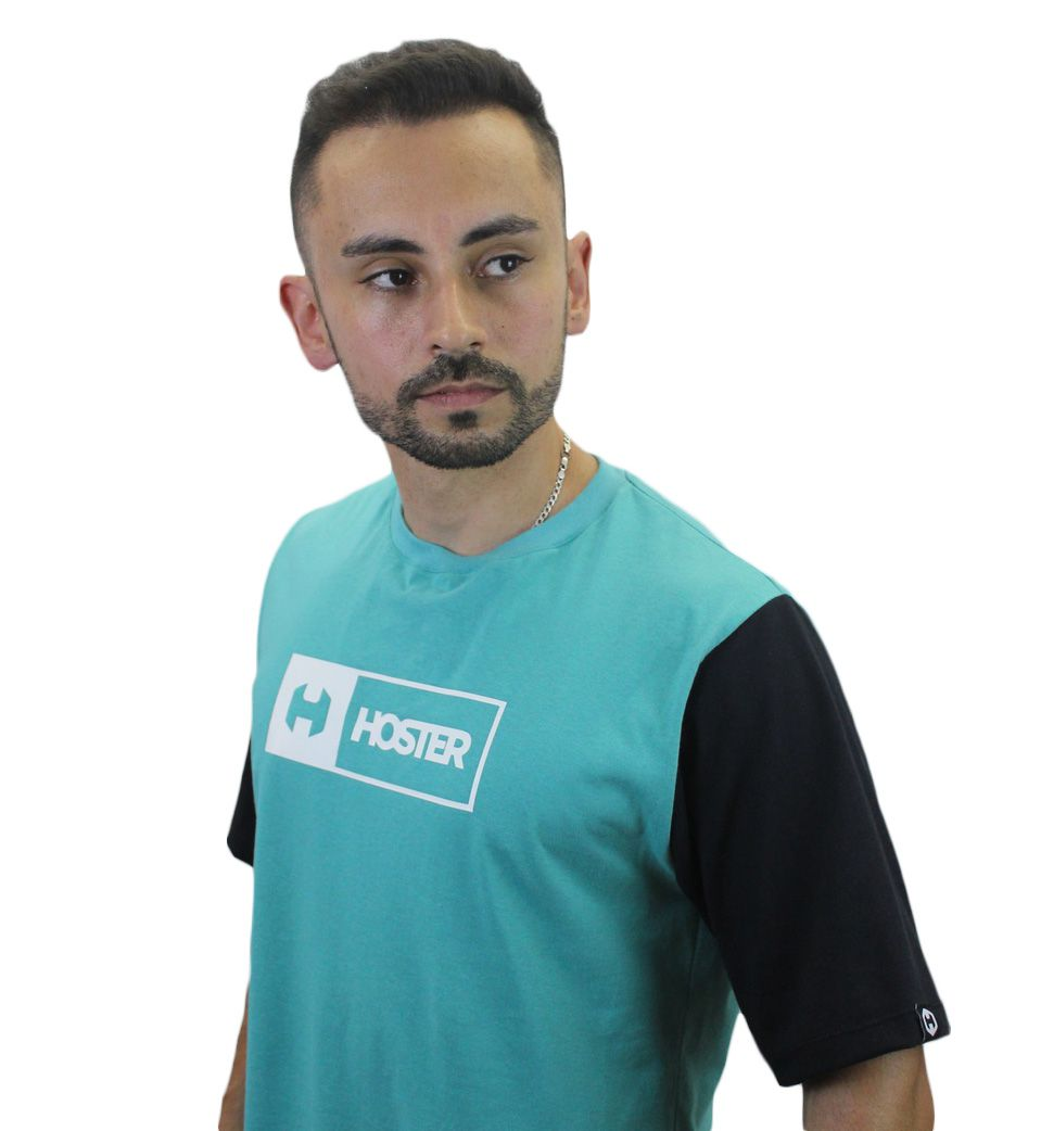 Camiseta Verde Athleisure HOSTER On Board