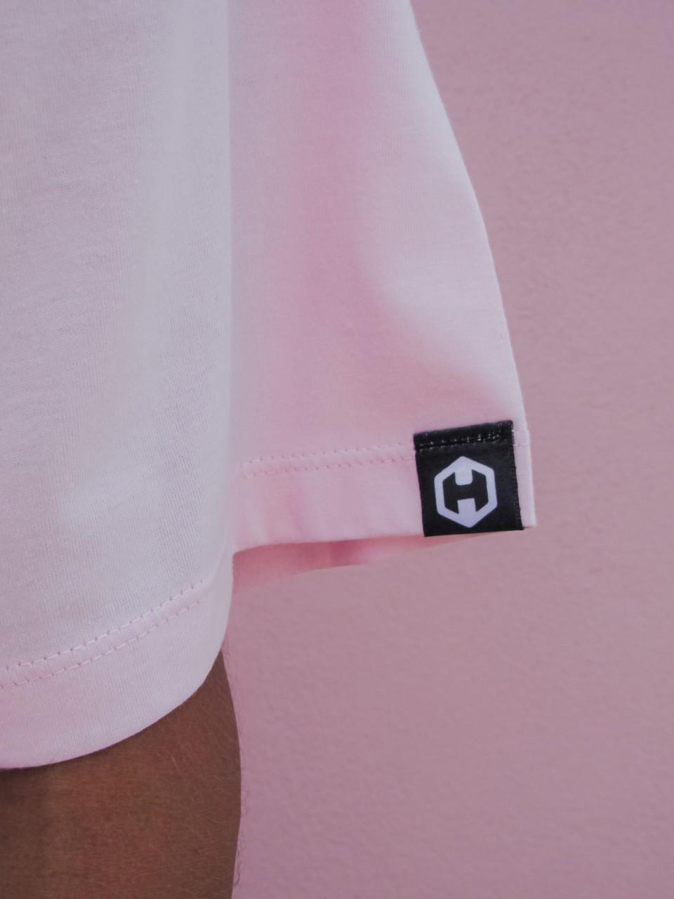 Camiseta HOSTER Rosa Swell New