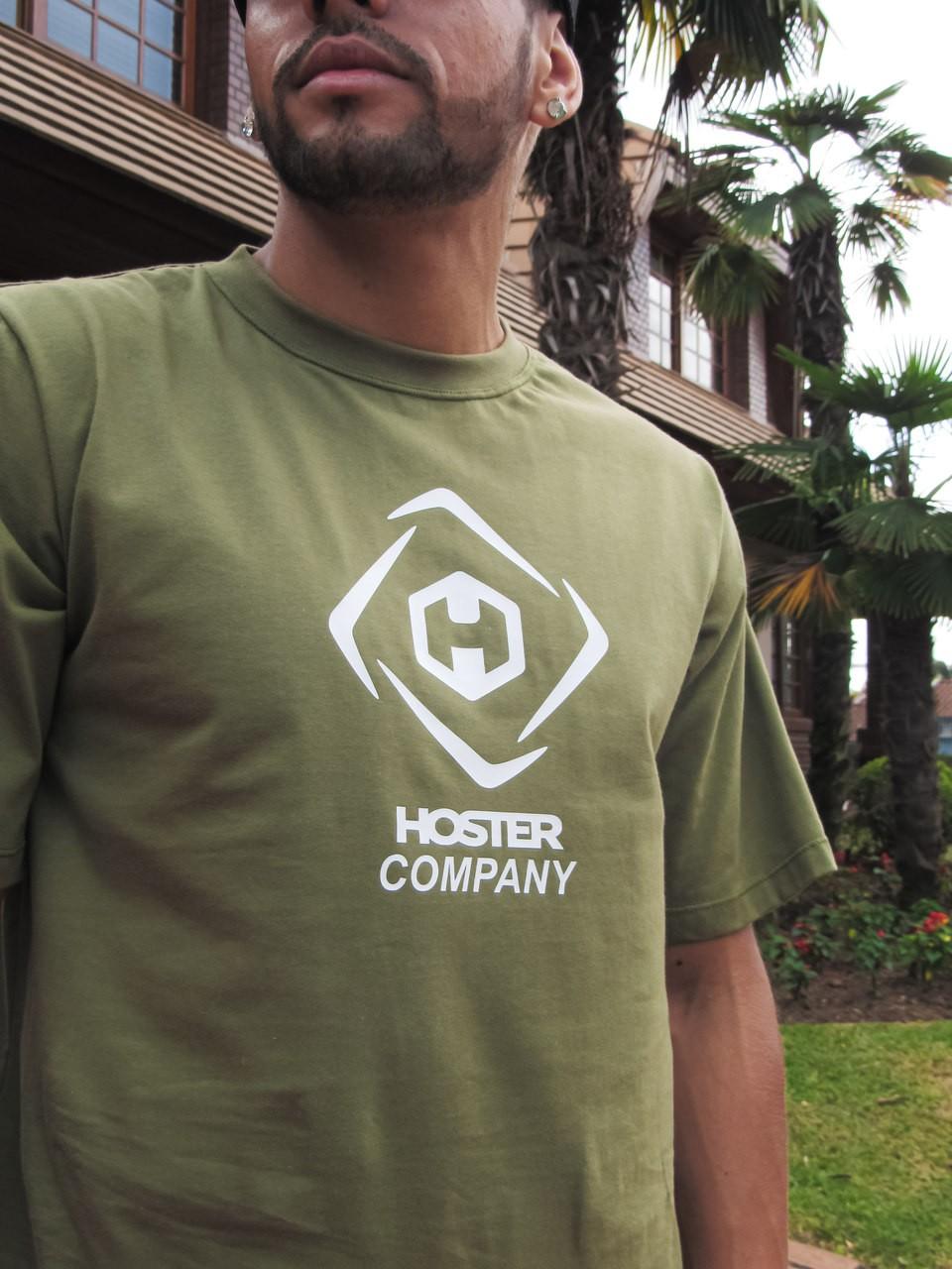 Camiseta HOSTER Street Verde