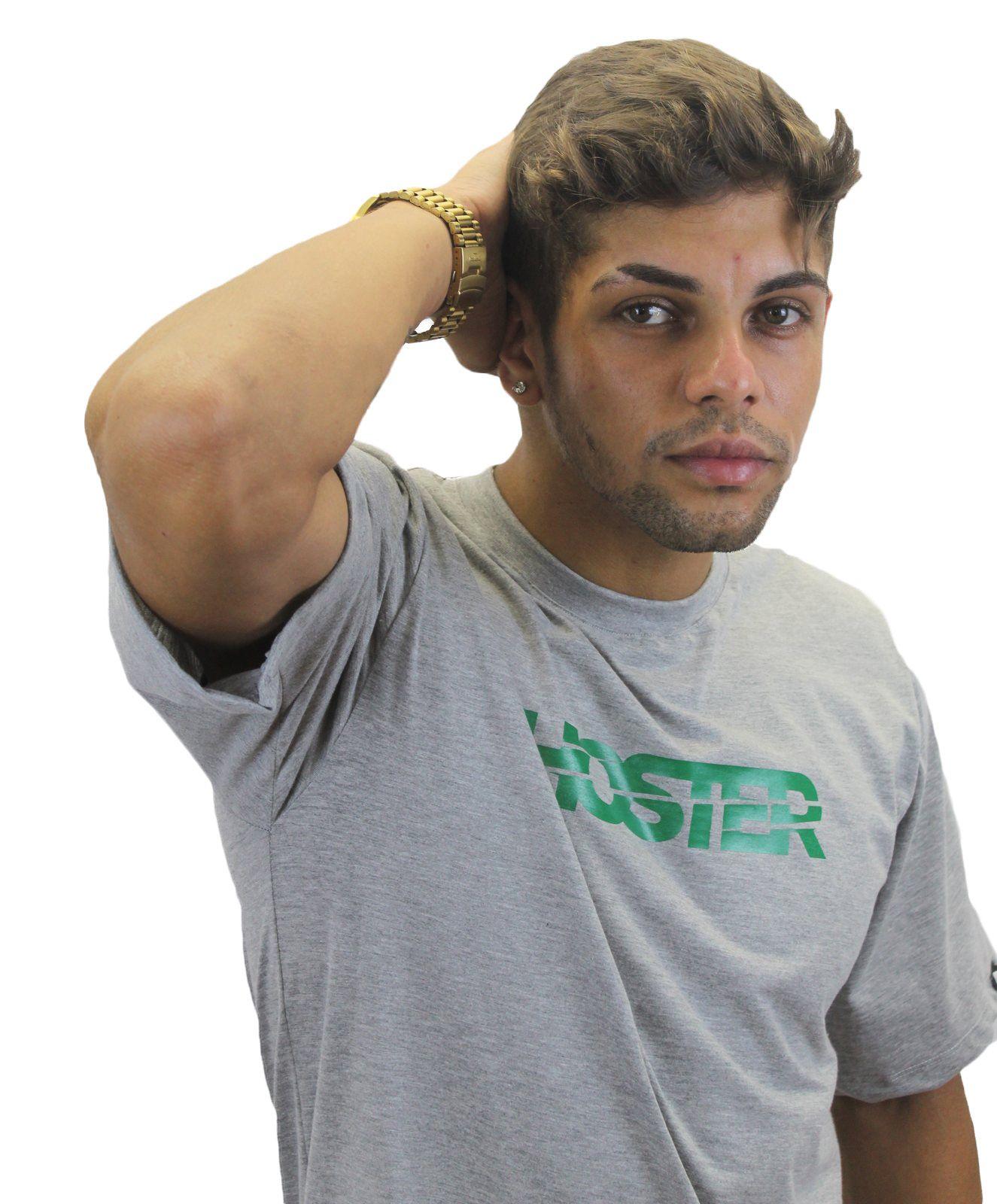 Camiseta Cinza Mescla Athleisure HOSTER Swell