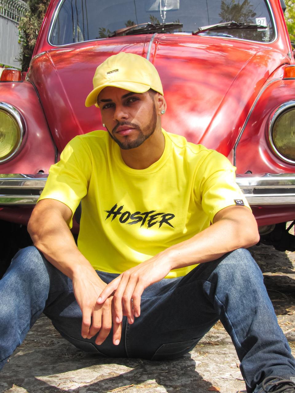 Camiseta HOSTER Thunder Amarela