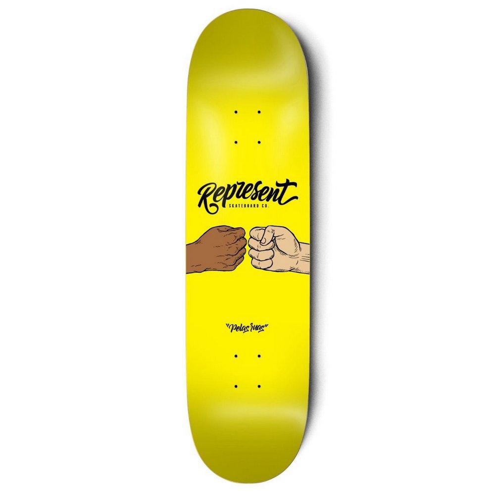 Shape Represent Marfim 8.0 Punch Amarelo