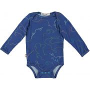 Body bebê manga longa micromodal Agulha e linha